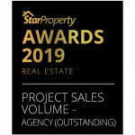 STARPROPERTY Project Sales Volume Agency (Outstanding) 2019